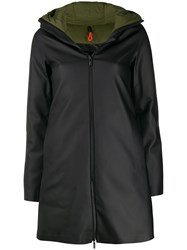 Rrd Hooded Waterproof Coat Black