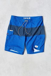 Katin Plank Surf Trunk Blue