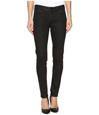 Mavi Jeans Adriana Mid Rise Super Skinny In Black Coated Gold Black Coated Gold Women's