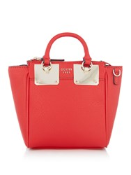 Guess Luma Mini Tote Bag Red