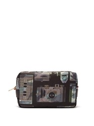 Paul Smith Camera Print Wash Bag Black