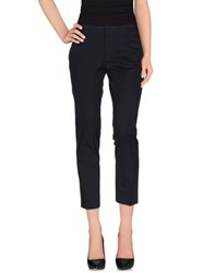 Fabrizio Lenzi Trousers Casual Trousers Women Dark Blue