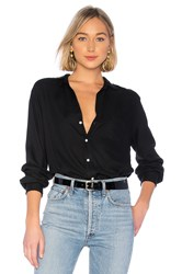 Frank And Eileen Button Down Black