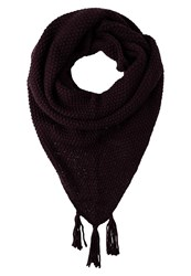 Opus Anastasia Scarf Dark Port Bordeaux