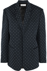 Faith Connexion Studded Cotton Twill Blazer