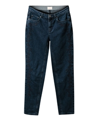 East Weekend Embroidered Jean Blue