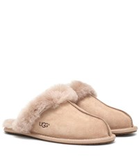 Ugg Scuffette Ii Suede Slippers Brown