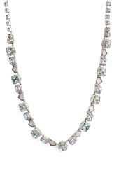 Sorrelli Dazzling Crystal Necklace Purple
