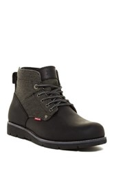 Levi's Jax Hemp Boot Black Mono A48