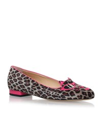 Charlotte Olympia Pretty In Pink Kitty Flats Female Tan