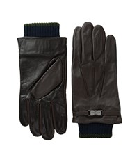 Ted Baker Calypso Chocolate Dress Gloves Brown