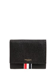Thom Browne Small Pebble Leather Wallet