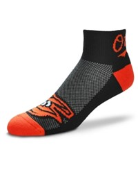 For Bare Feet Baltimore Orioles The Cuff Ankle Socks Black