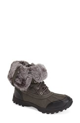Women's Report Signature 'Beric' Water Resistant Boot Charcoal Multi