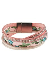 Sweet Deluxe Solveig Bracelet Silvercoloured Pink Multicoloured