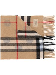 Burberry Classic Pattern Scarf Brown