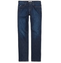 Loro Piana New York Stretch Denim Jeans Blue
