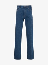 Y Project Side Button Seam Jeans Blue