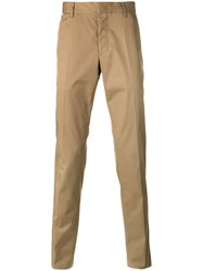 Lanvin Stripe Detail Chinos Nude Neutrals