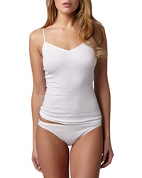 Hanro Cotton Seamless High Cut Briefs White White X Small