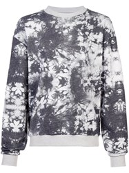 Cynthia Rowley New School Printed Sweatshirt Black