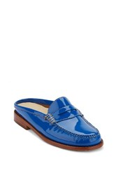 G.H. Bass Women's And Co. Wynn Loafer Mule Blue