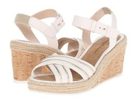 Tommy Bahama Naira White Gold Women's Wedge Shoes