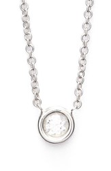 Bony Levy Women's Small Diamond Solitaire Pendant Necklace Limited Edition Nordstrom Exclusive