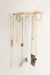 Urban Outfitters Minimal Hanging Jewelry Stand White