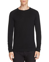 Helmut Lang Merino Wool Crewneck Sweater Black
