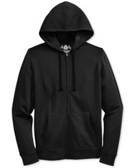American Rag Men's Full Zip Fleece Hoodie Only At Macy's Black Sea