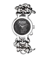Versus By Versace 36Mm Agadir Bracelet Watch Black