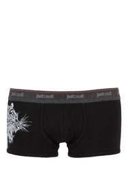 Just Cavalli Tiger Print Stretch Jersey Boxer Briefs