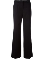 Ports 1961 Embroidered Detail Trousers Black