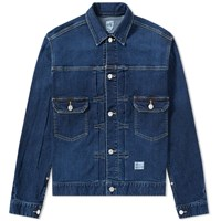 Bedwin And The Heartbreakers Cassidy Denim Jacket Blue