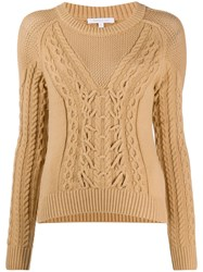 Patrizia Pepe Cable Knit Jumper 60