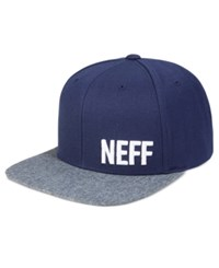 Neff Men's Daily Embroidered Logo Hat Navy