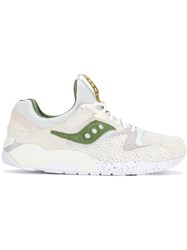 Saucony Inner Sneakers Leather Nylon Rubber Nude Neutrals