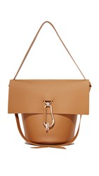 Zac Posen Belay Shoulder Bag Camel