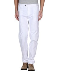 57 T Trousers Casual Trousers Men White