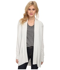 Splendid Cashmere Blend Cardigan Cream Women's Sweater Beige