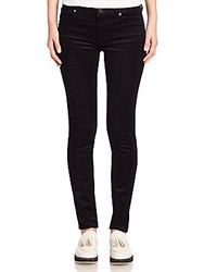 7 For All Mankind Skinny Corduroy Jeans Black