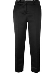 Love Moschino Tapered Tailored Trousers Black