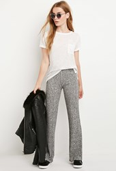 Forever 21 Ribbed Knit Flared Pants
