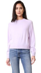 Vince Raglan Sleeve Cashmere Sweater New Lavender