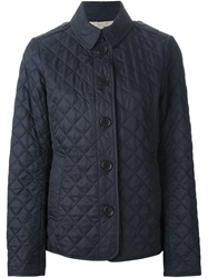 Burberry Brit Quilted Jacket Blue
