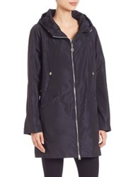 Creenstone Hooded A Lined Jacket Navy