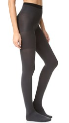 Spanx Reversible Tights Black Charcoal