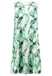 Kiomi Summer Dress White Green