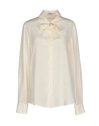 Moschino Cheap And Chic Moschino Cheapandchic Shirts Shirts Women Ivory